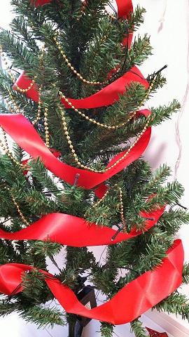 クリスマスツリー飾り方LEDライト